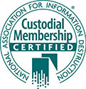 NAID Custodial Certification logo